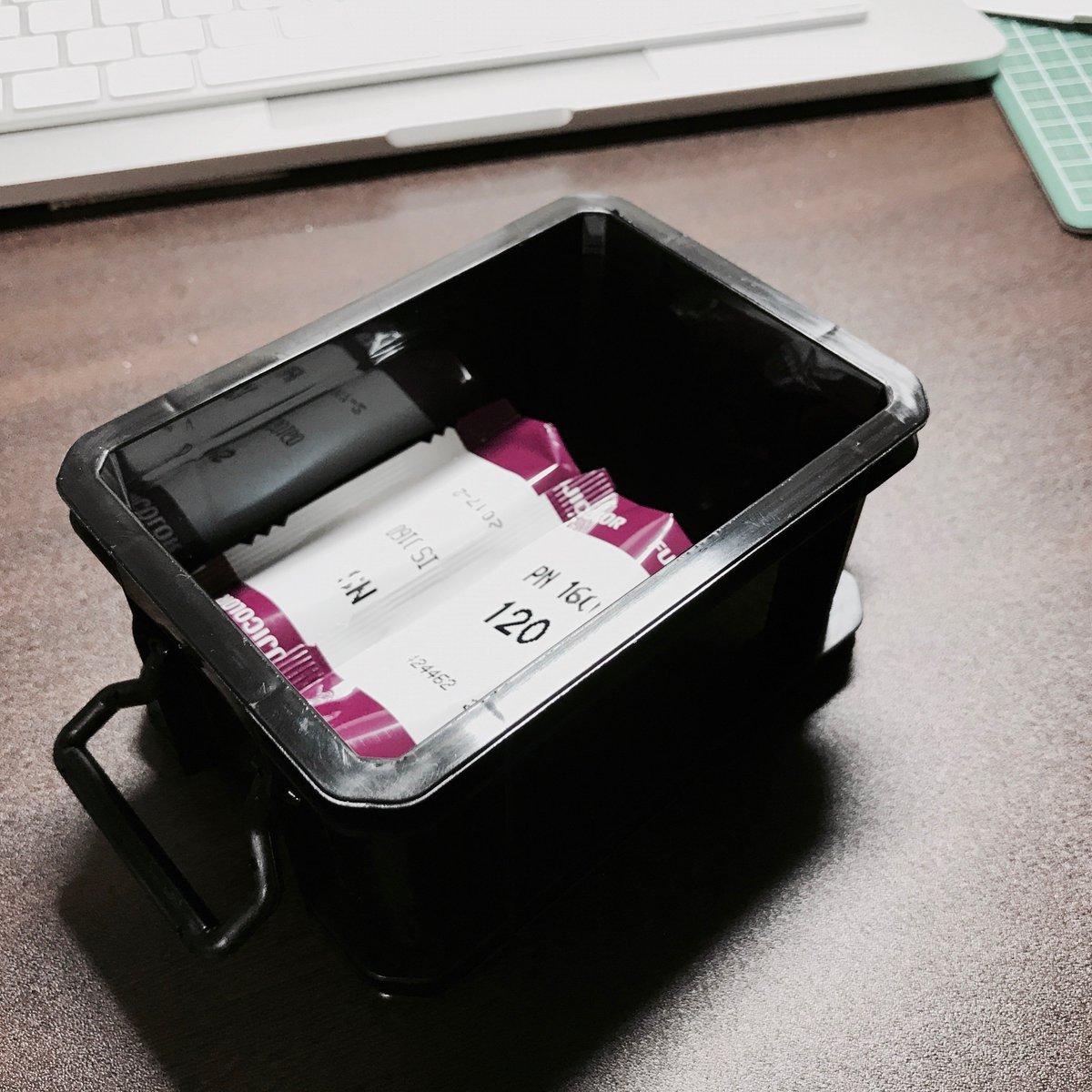 test ツイッターメディア - #セリア で買ったハードケースが, 120フイルムの持ち運びにいい感じ(詳細は僕のブログで).  #Seria #フイルム #フィルム #フィルムカメラ #中判 #ブローニー  https://t.co/tybJtATx2Y https://t.co/a0Kc7bVRDK