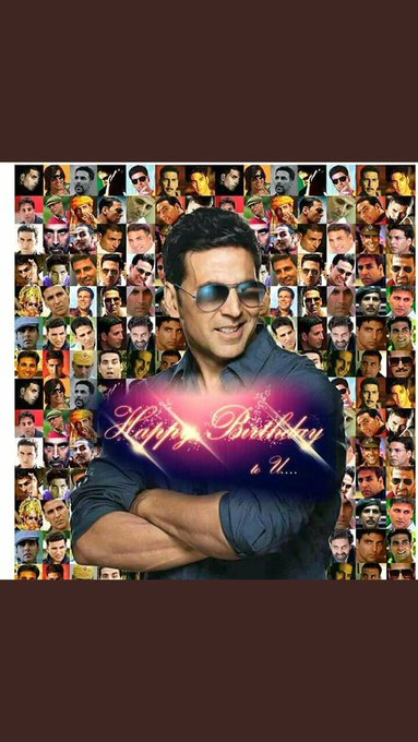 Many many happy returns of the day happy Birthday akshay kumar