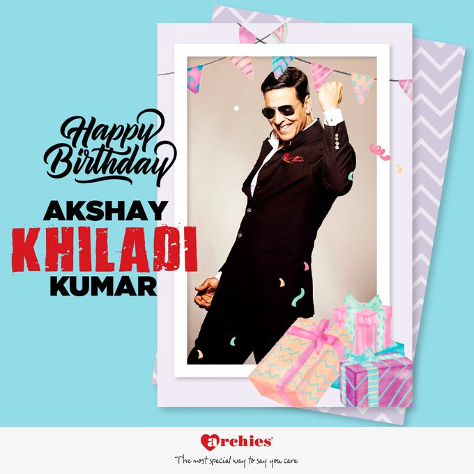 Happy Birthday to the versatile actor, Akshay Kumar...