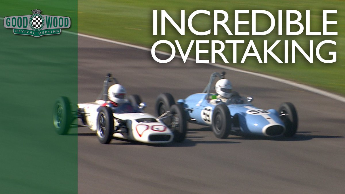 Incredibly cheeky overtake! #GoodwoodRevival https://t.co/PfyzD41DIE