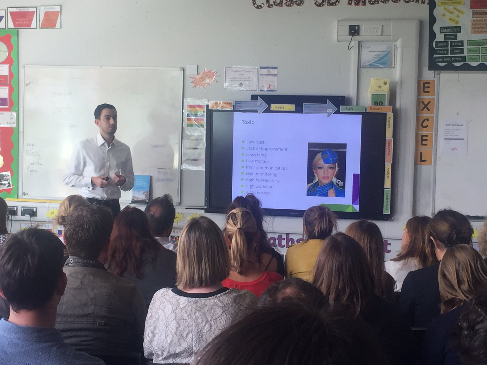 Toxic schools (with a Britney slide!) and David Weston @informed_edu #rED17 https://t.co/5oFyGJyN4K