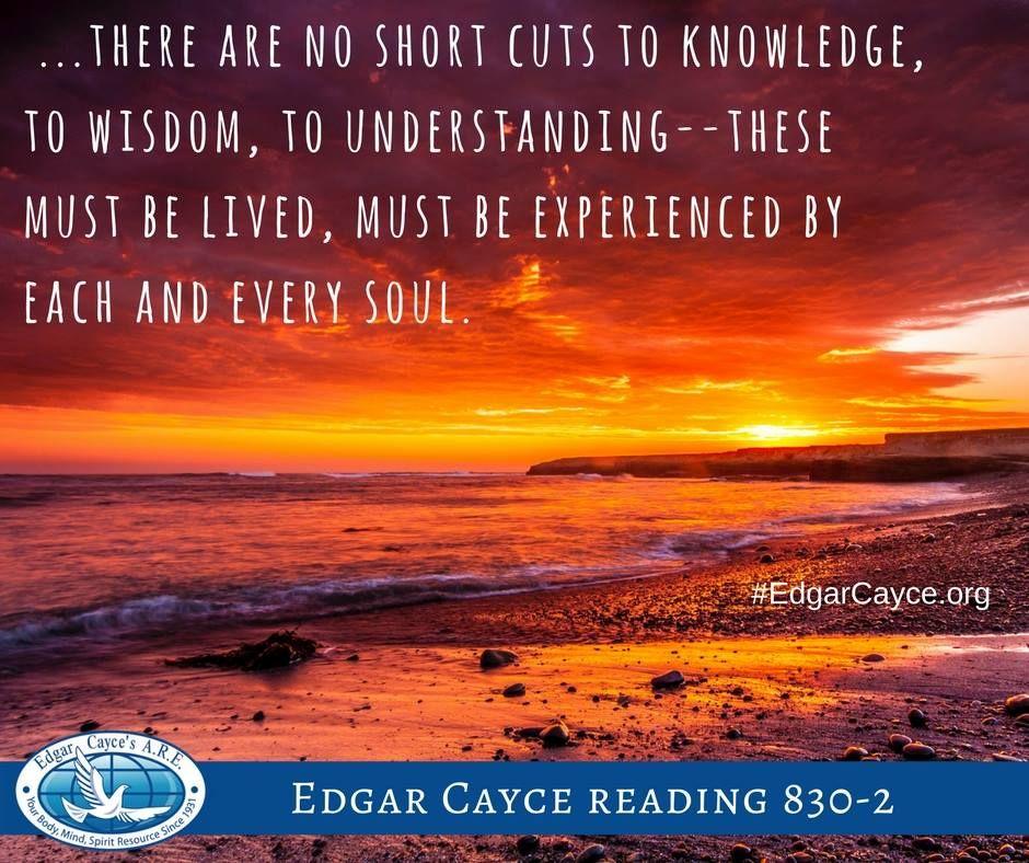 Edgar Cayce on Twitter: