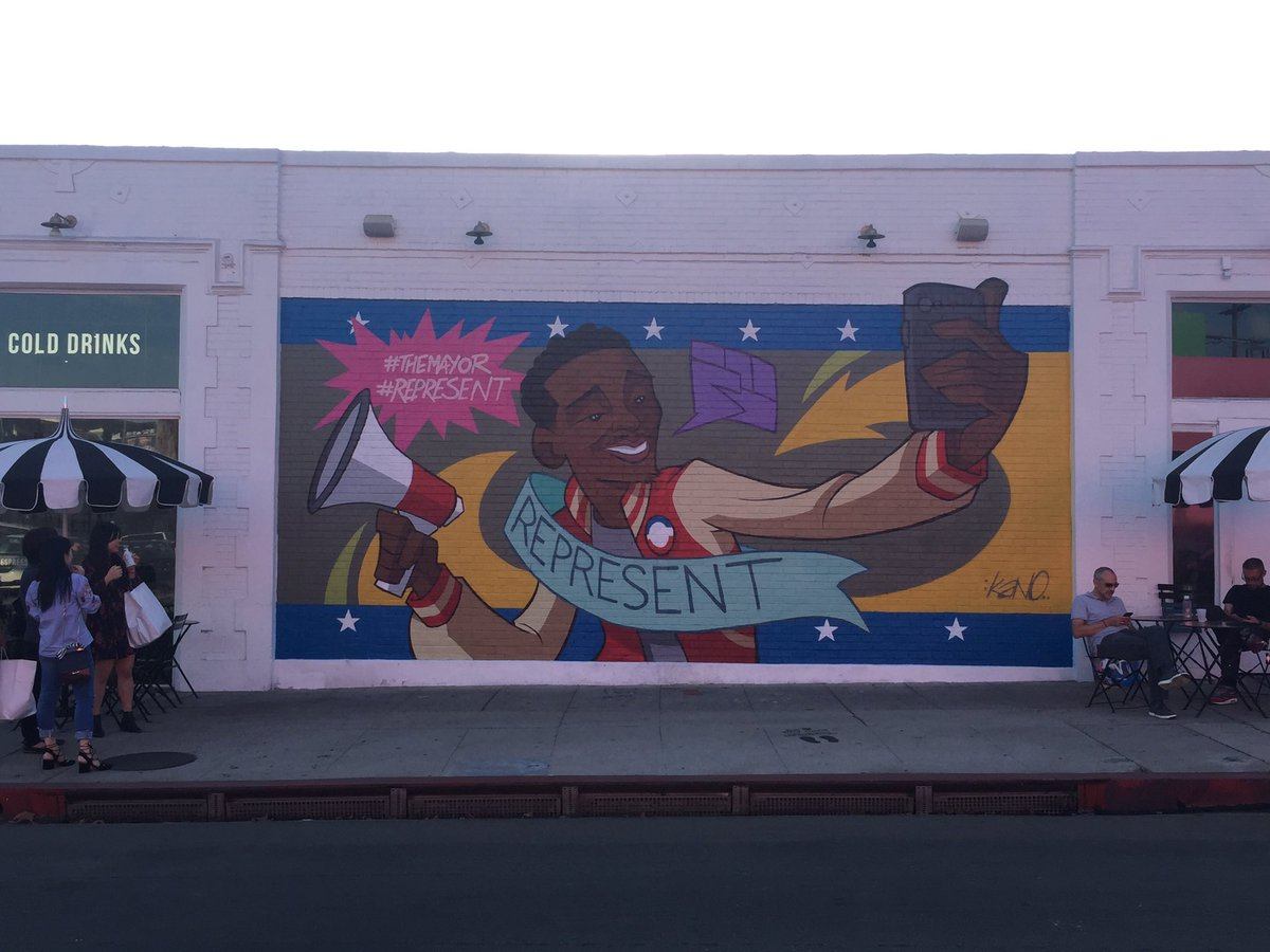 Finished piece for ABC's The Mayor, on Melrose & Harper. #TheMayor #Represent https://t.co/mEKlnl8rxn