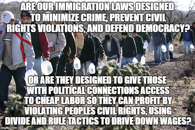 Immigration laws designed to encourage human trafficking while #Oligarchies profit using contractors to avoid blame  http:// zacherydtaylor.blogspot.com/2017/09/scapeg oating-human-trafficker-to.html &nbsp; … <br>http://pic.twitter.com/QQSOa2cEWH