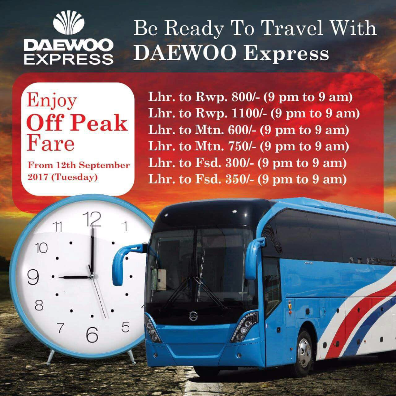 Daewoo Express on Twitter: