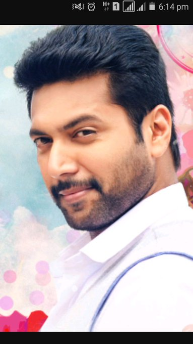 Advance  wishes  to jayam ravi   happy  happy  birthday anna