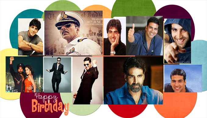 Akshay kumar sir  happy birthday to you sir.........................................