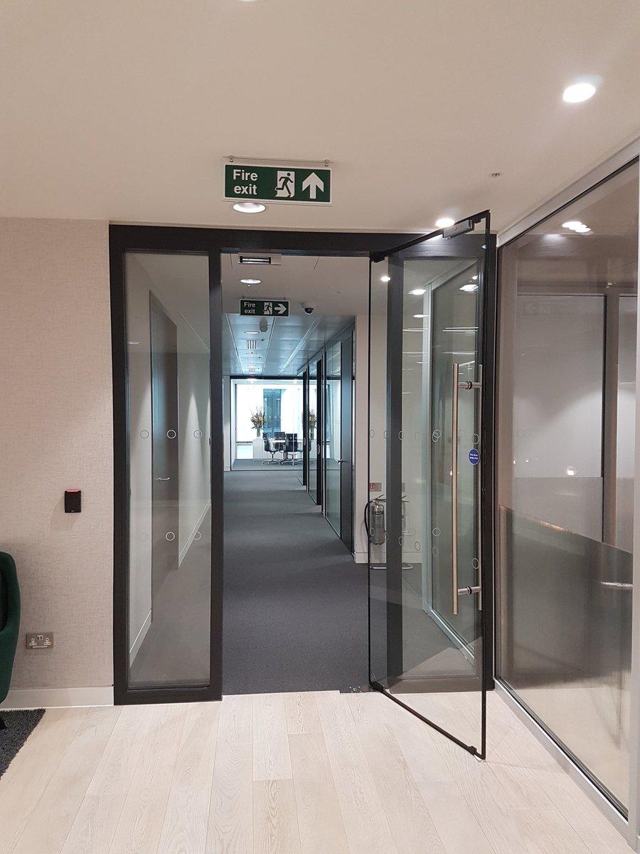 Billericay Glass On Twitter Frameless Fire Rated Glass Door