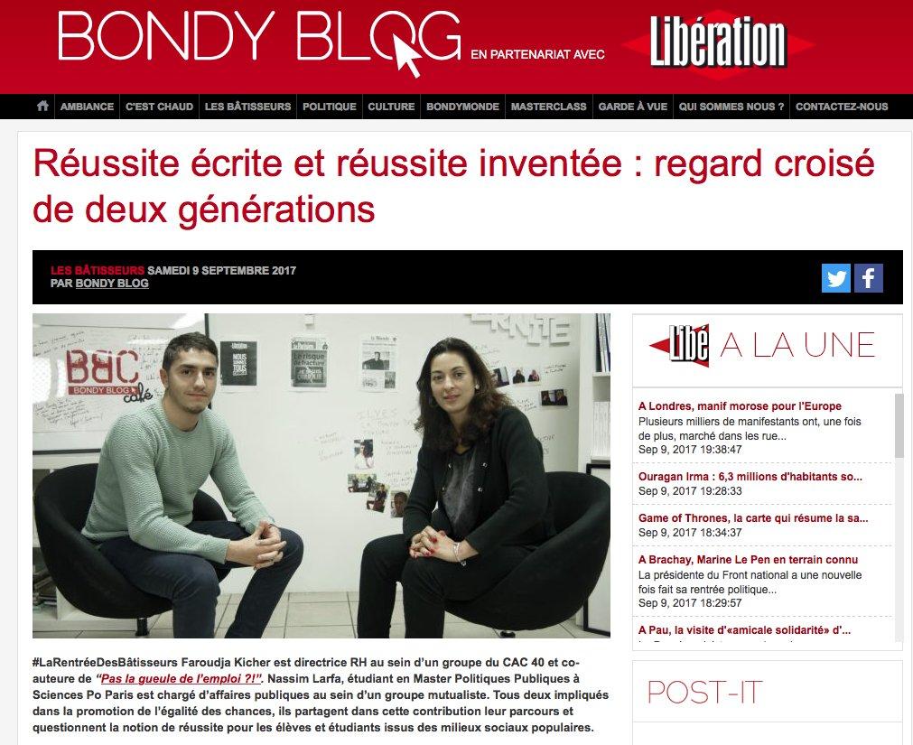 CARTE DE VISITE Pierre Selos Le Bondy Blog Merci Nos Invits Dautres Contenus
