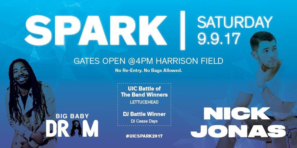 Chicago! See you tonight at #UICSpark2017. Let's go! @uiccsi https://t.co/SmAIYJrbmV