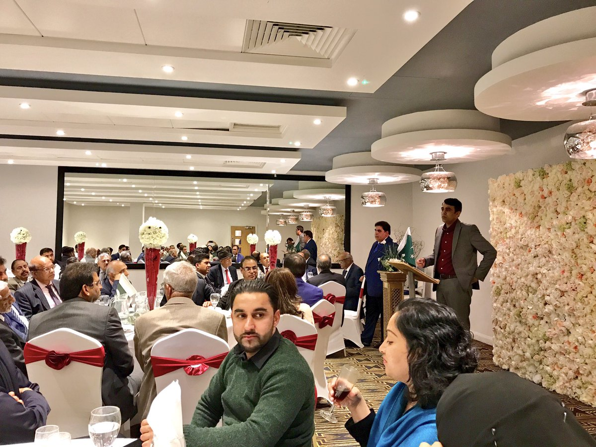 The #UKPKCF is honoured to hear from @phclondon colleagues tonight at our #EidMilan dinner <br>http://pic.twitter.com/x9Dmn08PTl