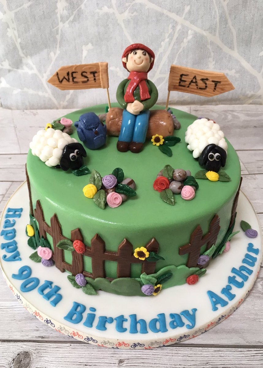 Denise LOMAS Auf Twitter A Rambling Cake For Special Man Celebrating His 90th Birthday Handmade By Deelicious Limited