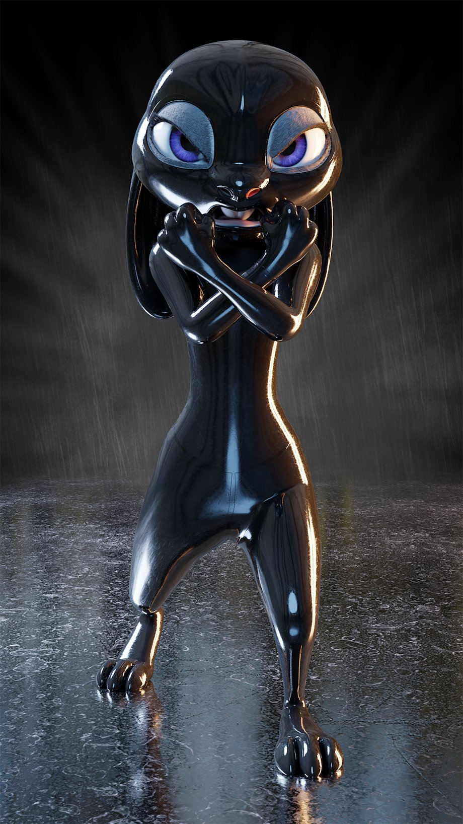 3D Latex Bondage movim – tag – #latex