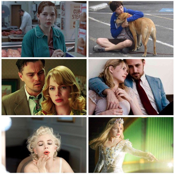 Happy birthday to the wonderfully talented Michelle Williams (b.1980)!Some highlights: