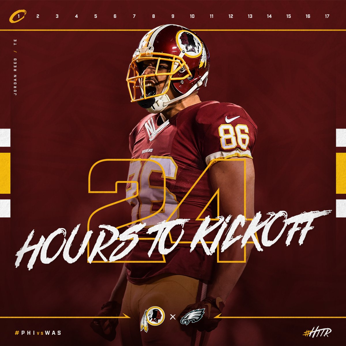 RT if you're ready for #Redskins kickoff! #HTTR #PHIvsWAS