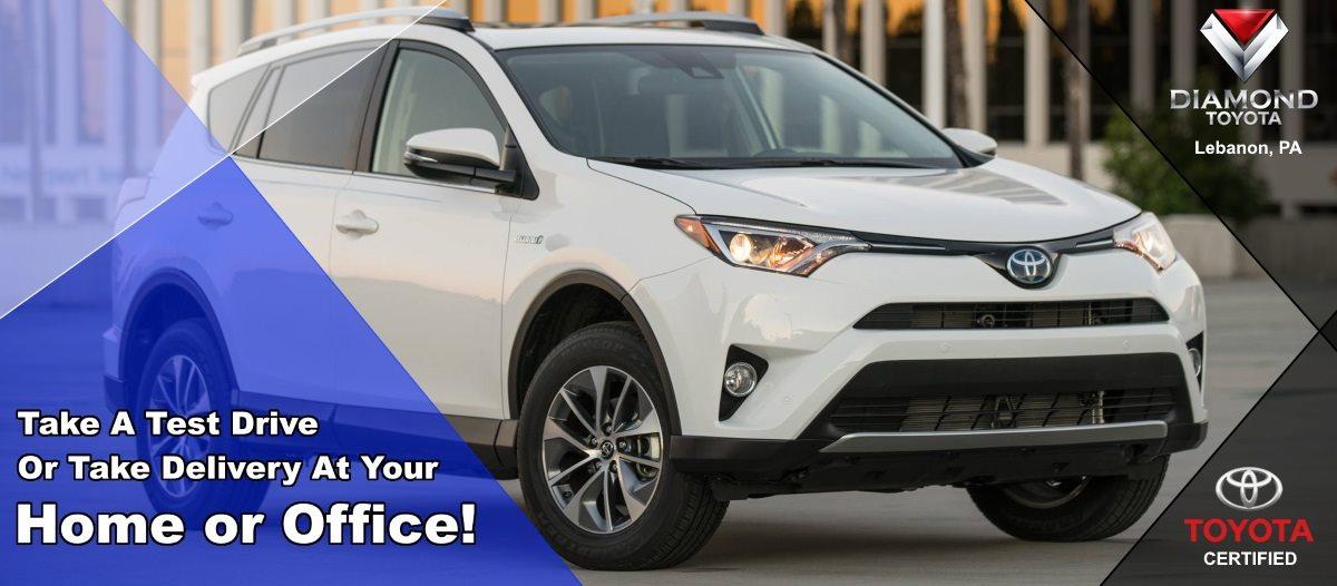 Toyota Lebanon Pa >> Diamond Toyota On Twitter Let Us Bring Your Next Toyota To