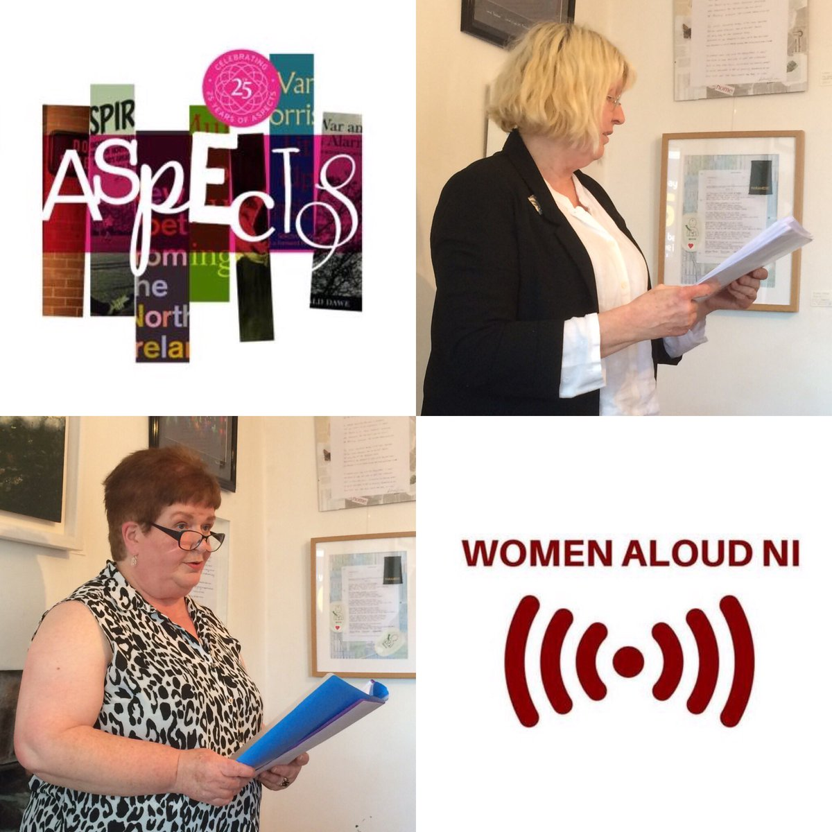 Photos from this afternoon's #WomenAloudNI poetry recital as part of @AspectsFestival https://t.co/fkaATcDcQr