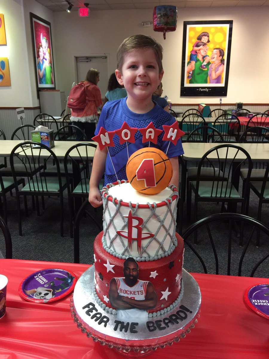 Dr Toby Kirkwood On Twitter Noah Wanted A JHarden13 Birthday Cake For His 4th Bday Baller Thenatural Happy B Day Little Boy HoustonRockets