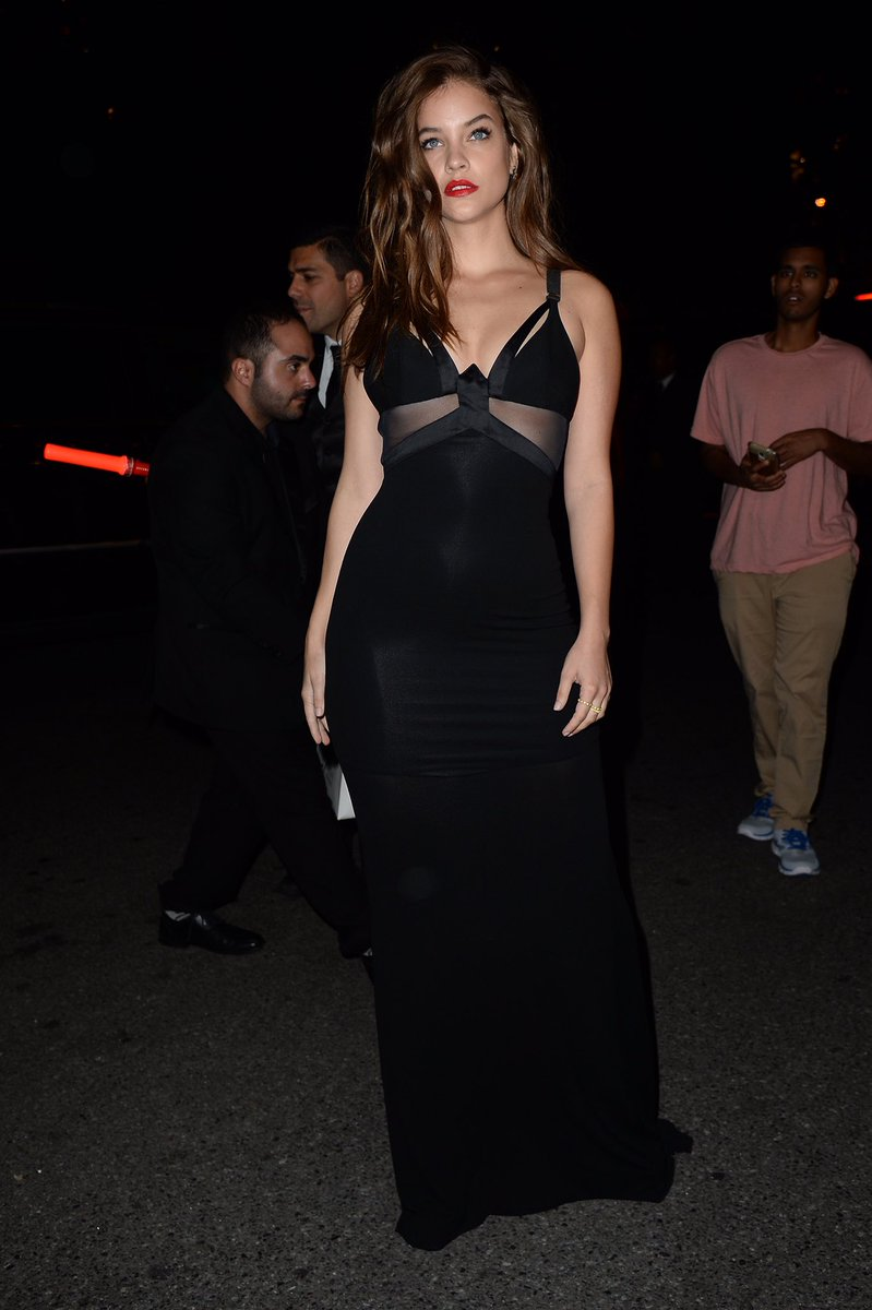 Harper s bazaar event looks more like a lingerie party page 12 - Barbara Palvin Today On Twitter Barbarapalvin Barbara Palvin Arriving At The Annual Harper S Bazaar Icons Party For The Nyfw Event On Friday Night At