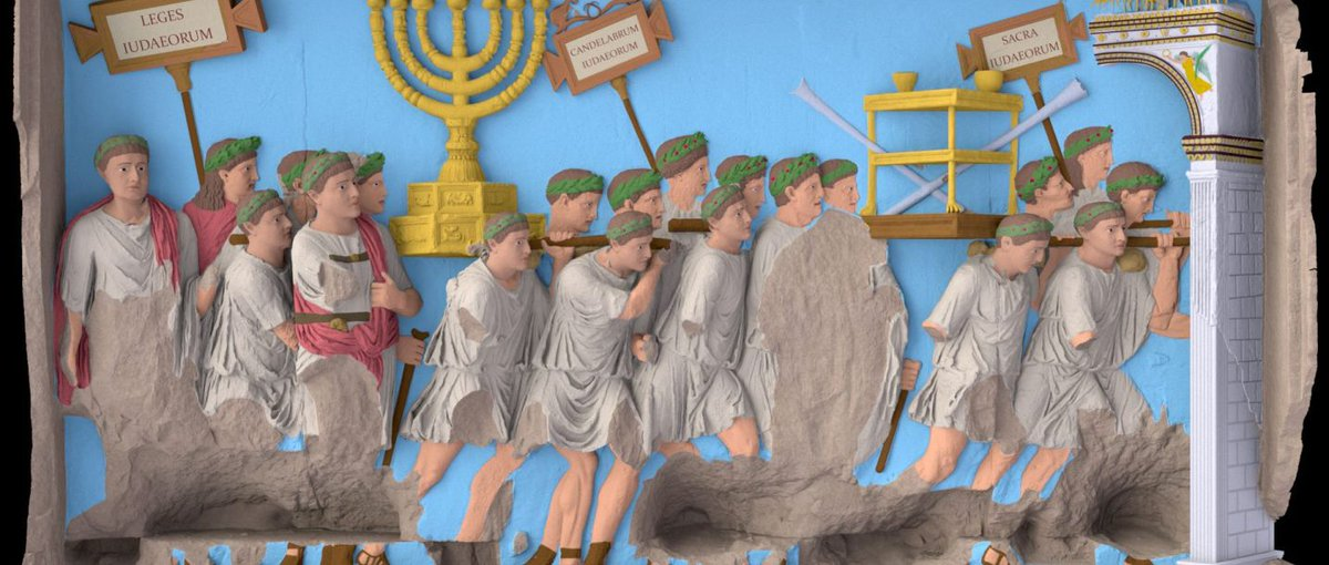 #Rome #Jews #history #archaelogy Archaeologists Reconstruct How the #ArchofTitus Looked – in Full Color  http://www. haaretz.com/archaeology/1. 811165 &nbsp; … <br>http://pic.twitter.com/eAGAIdaEsX