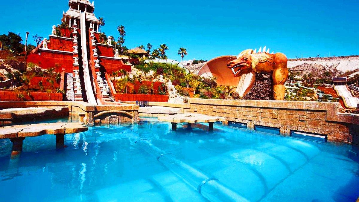 дети, самый большой аквапарк в европе испания фото часть страны имеет
