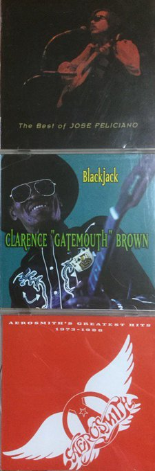 "happy birthday. José Feliciano & Clarence ""Gatemouth\"" Brown & Joe Perry  .death Aanniversary."