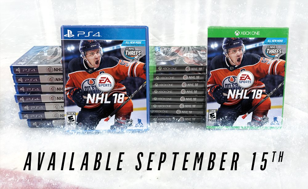 Anyone want an early copy of #NHL18?  RT + Tag a friend for a chance to win copies! https://t.co/fHobb76Fc2