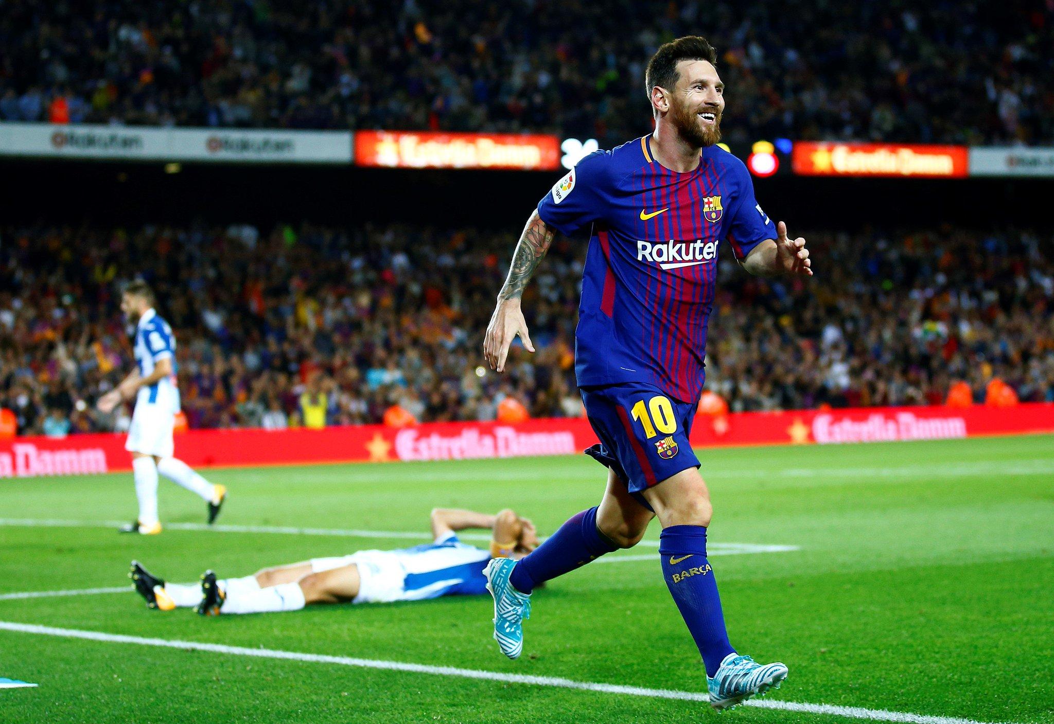 Barcelona vence 5-0 al Espanyol
