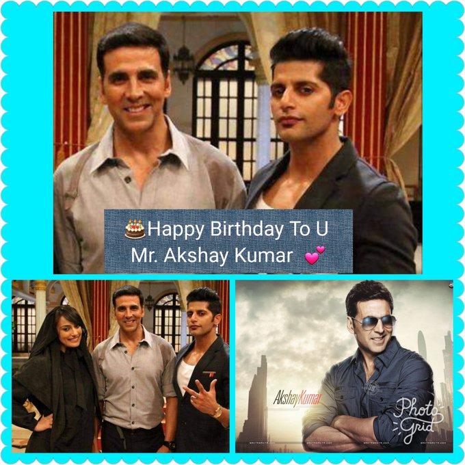 Happy belated birthday to u.. Mr. Akshay Kumar..May god bless you always