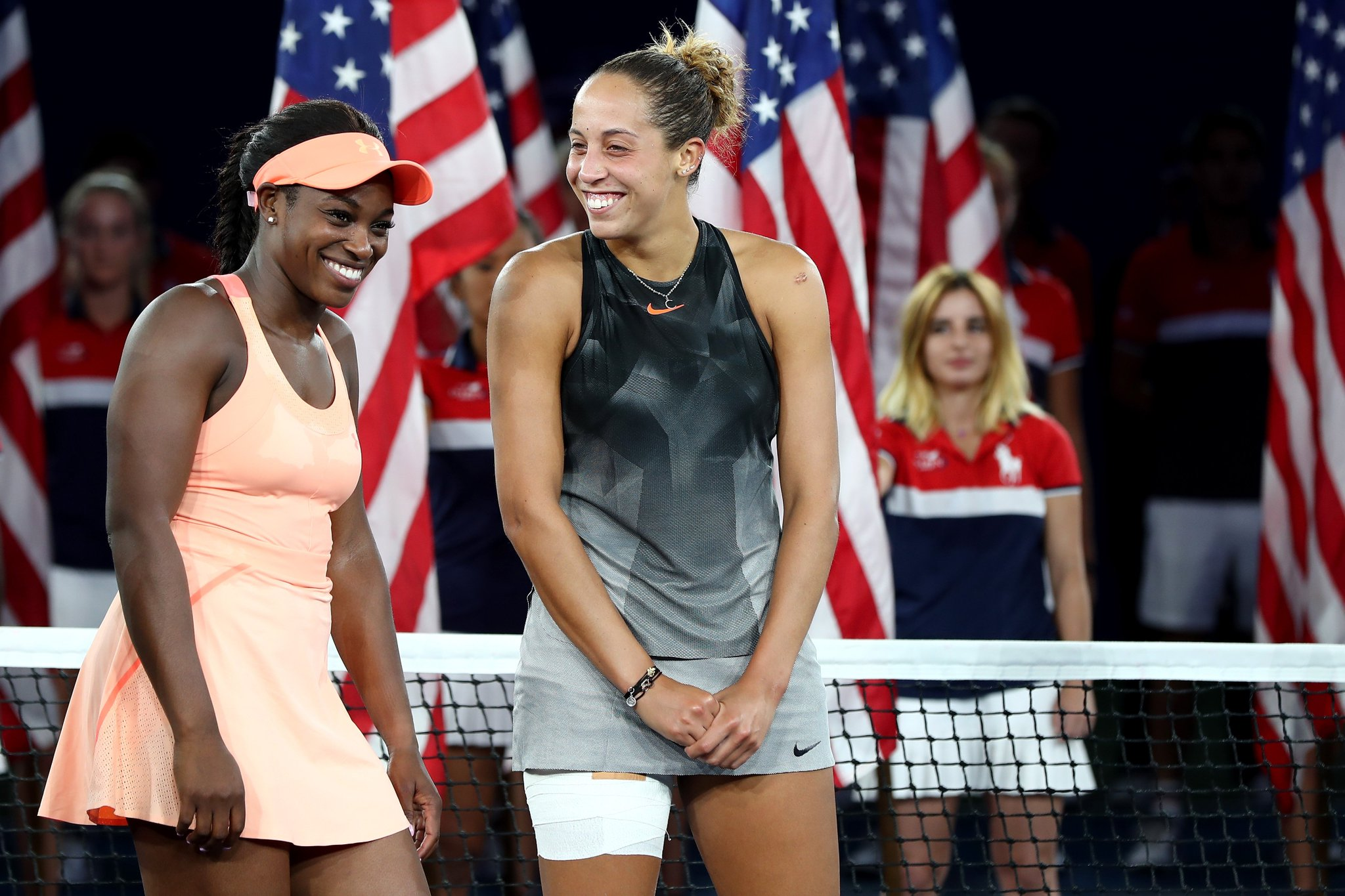 Friendship goals.  Sloane Stephens and Madison Keys  #USOpen   Reaction: https://t.co/7RjzyIYjyq https://t.co/w1VOW5DE5T