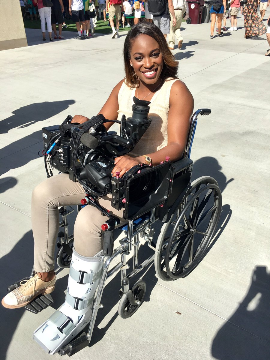 In March  was in a wheelchair holding a Tennis Channel camera 🎥  Today she's holding the  trophy 🏆 #USOpen