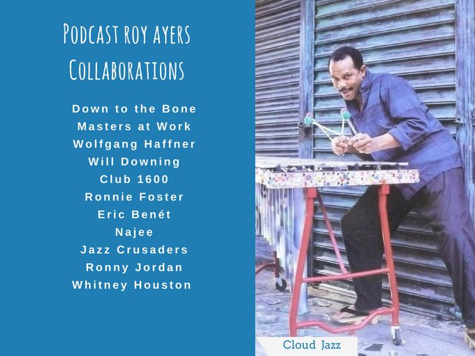 Happy Birthday Roy Ayers! Mañana cumple 77 años el vibrafonista Roy Ayers.  Podcast: