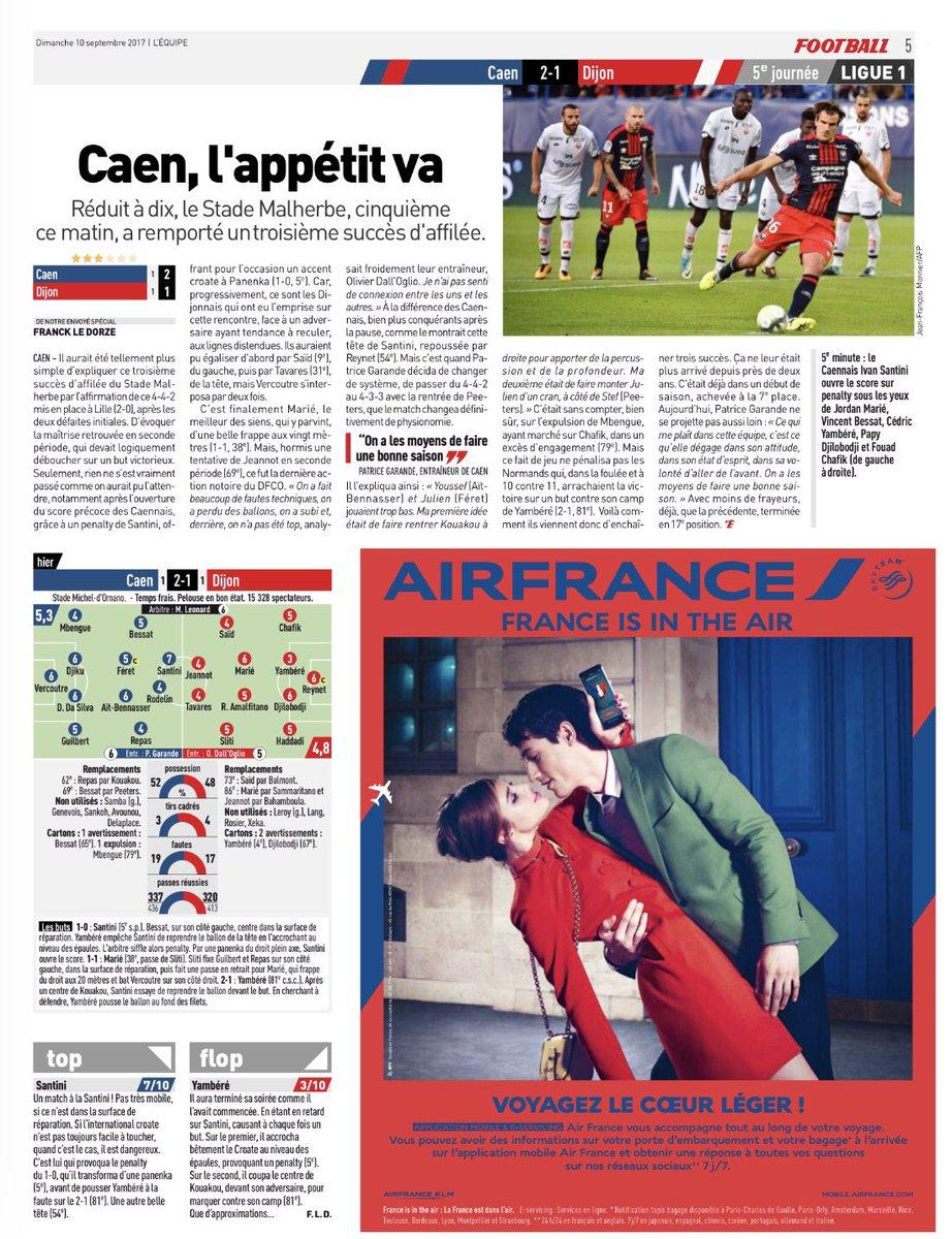 [5e journée de L1] SM Caen 2-1 Dijon FCO DJURXjtXkAMDTgN