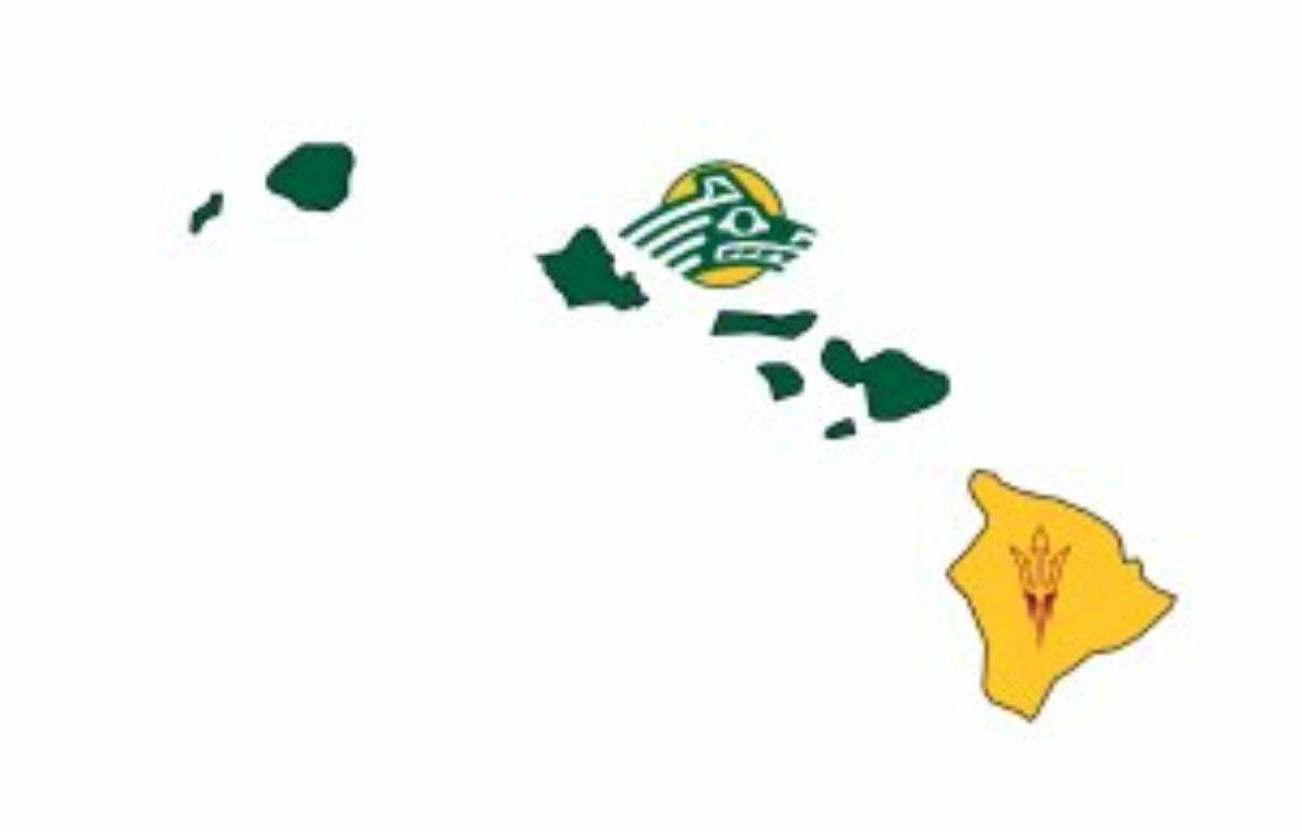 Of hawaii map