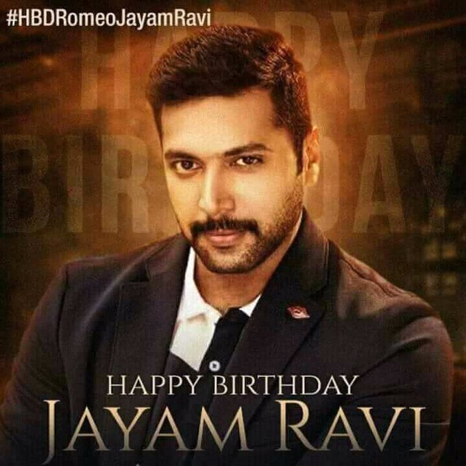 Happy birthday jayam ravi Anna...