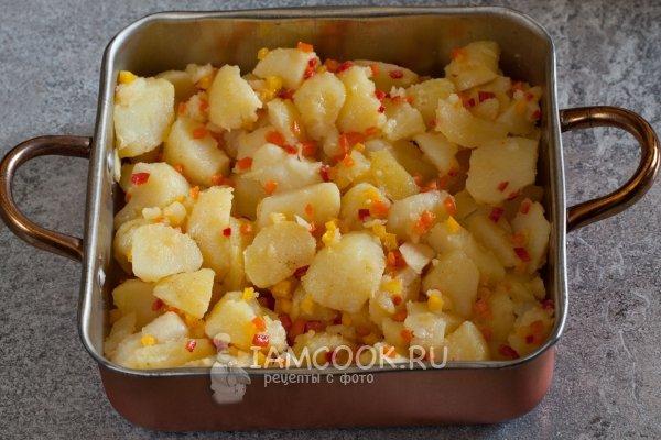 Рецепт утки с яблоками и апельсинами