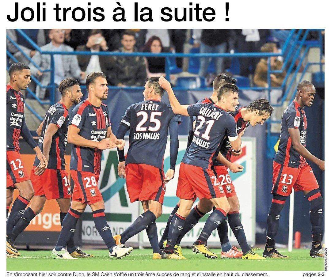[5e journée de L1] SM Caen 2-1 Dijon FCO DJV8a0SXUAAm61C