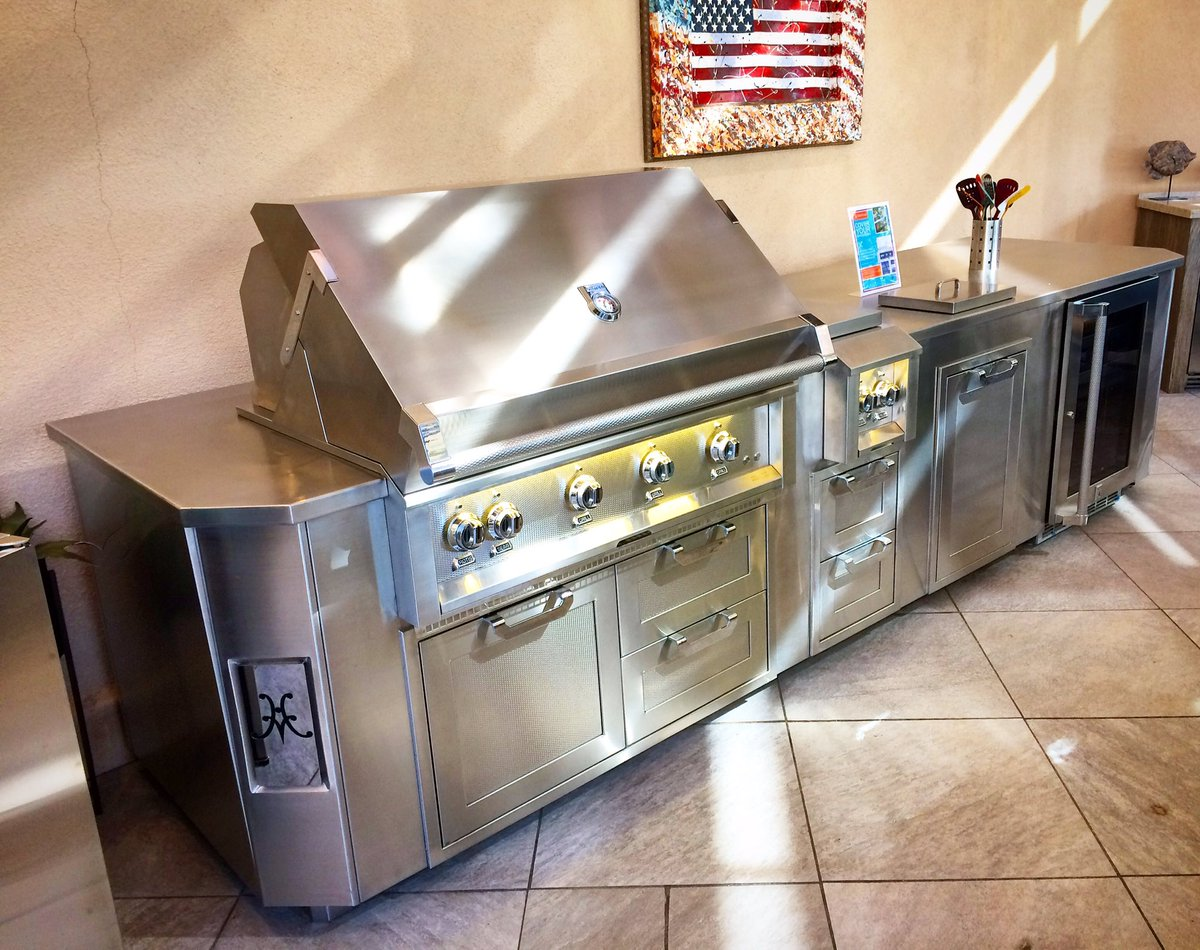 Hestan On Twitter Hestan Outdoor Living Suite Front And Center At