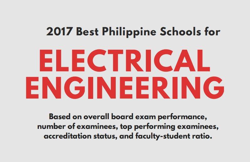 34 Best Electrical Engineering Schools in PH for 2017 #universityrankings #uguide  http://www. localpulse.net/education/top- schools/34-best-electrical-engineering-schools-ph-2017-16240/ &nbsp; … <br>http://pic.twitter.com/UumY0BENer