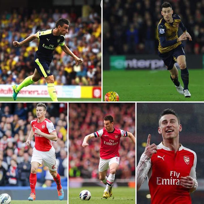 Happy birthday to one of the best defenders in the Premier League, Laurent Koscielny