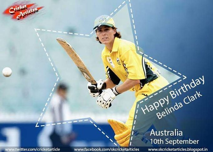 Happy Birthday to One of Australia\s most successful captains and opening batter Belinda Clark.