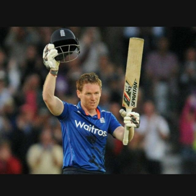 He became the first Irish cricketer to score a First-Class double century .   Happy Birthday Eoin Morgan !