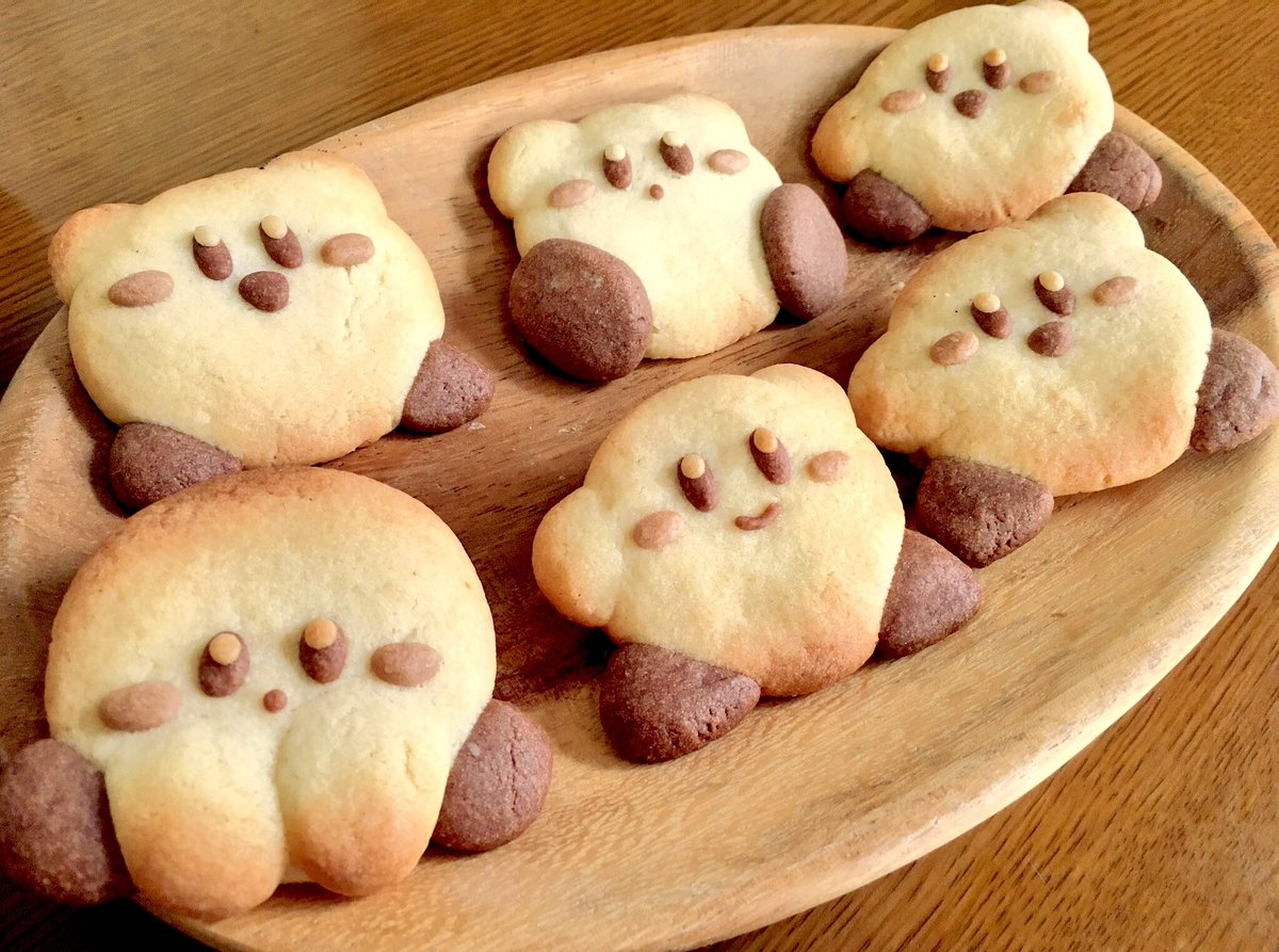 お久しぶりにカービィクッキーを焼きましたo(^▽^)o