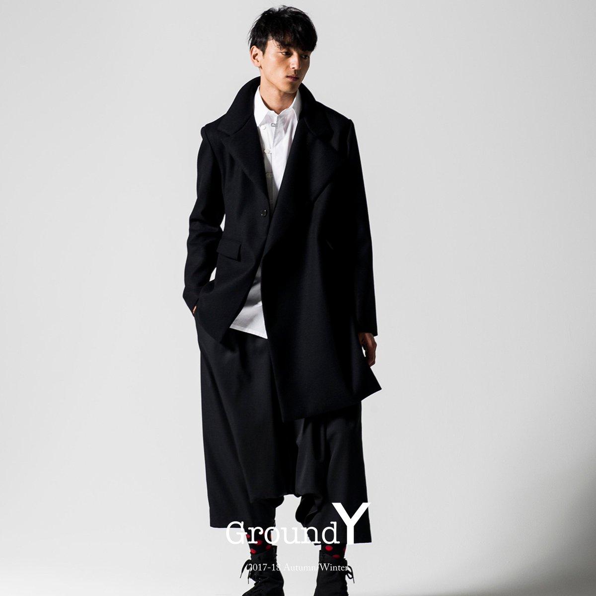 2017-18 Autumn/Winter □Ground Y EC store http://syte.yohjiyamamoto.co.jp/item?brand_id=5/ … □Ground Y members entry ...