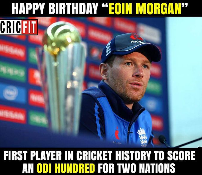 Happy birthday Eoin Morgan!!