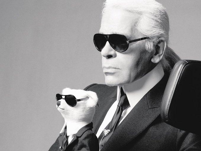 September 10, 1933    Karl Lagerfeld  Happy Birthday!