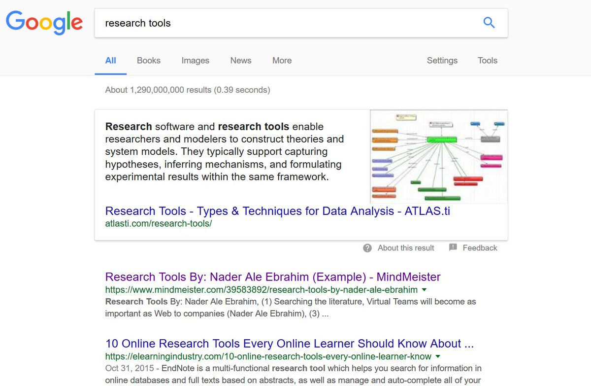 #ResearchTools right now, back to the top of the results page of Google search! @KTAustralia   https://www. mindmeister.com/39583892/resea rch-tools-by-nader-ale-ebrahim &nbsp; … <br>http://pic.twitter.com/jWWob7RGnw