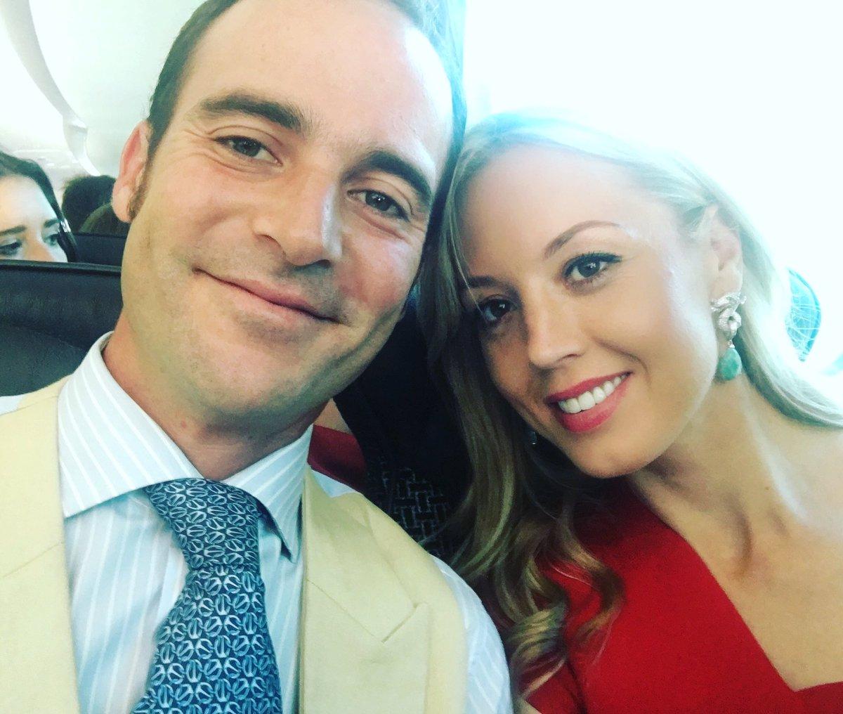 Ellen Whitaker with her fiance Antonio Soto