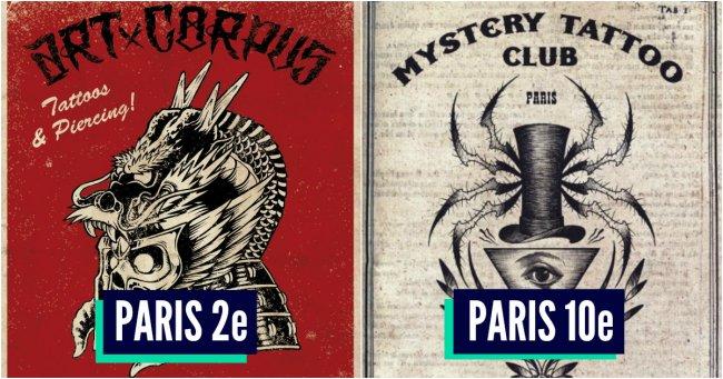 Top 10 des meilleurs salons de tatouage de paris coucou petite perruche - Meilleurs salons de the paris ...