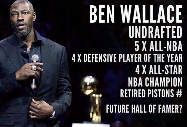 Happy Birthday Ben Wallace!